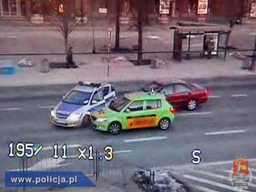 Policja zatrzymała pijanego kierowcę po pościgu w Warszawie