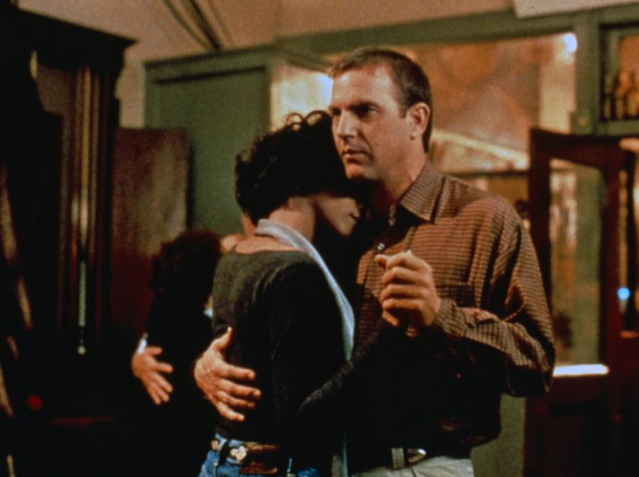 Whitney i Costner w filmie \