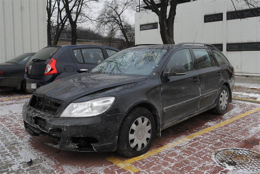 Samochód został zniszczony w czasie podróży służbowej