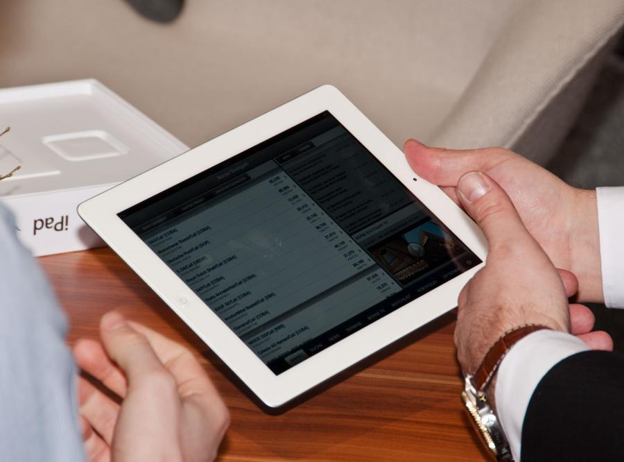 iPad, zdjęcie ilustracyjne