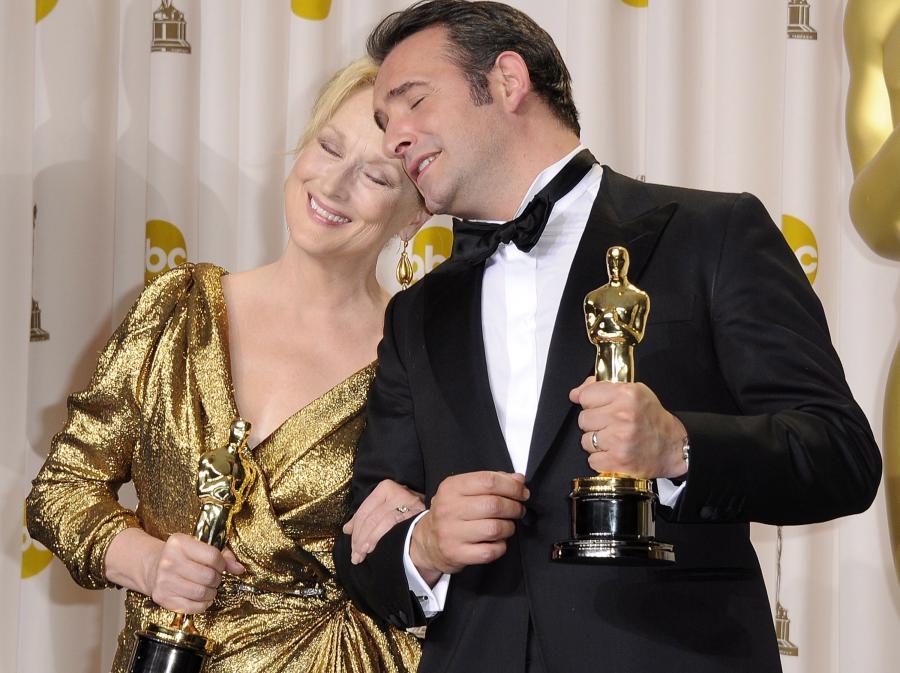 Meryl Streep i Jean Dujardin