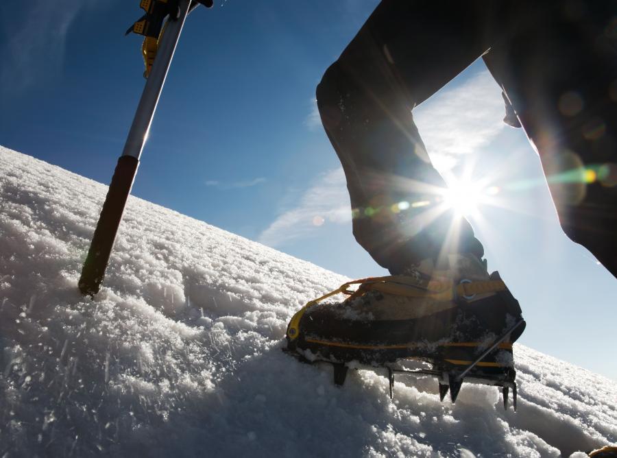 Góral z Zakopanego wchodzi na Lhotse