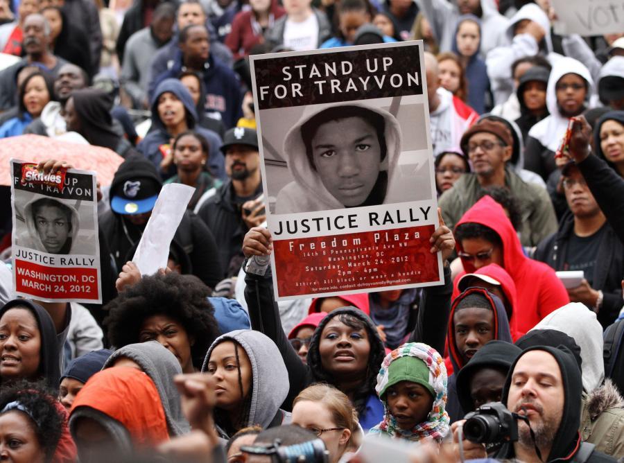 Demonstracja przeciwko rasizmowi po śmierci 17-letniego Trayvona Martina