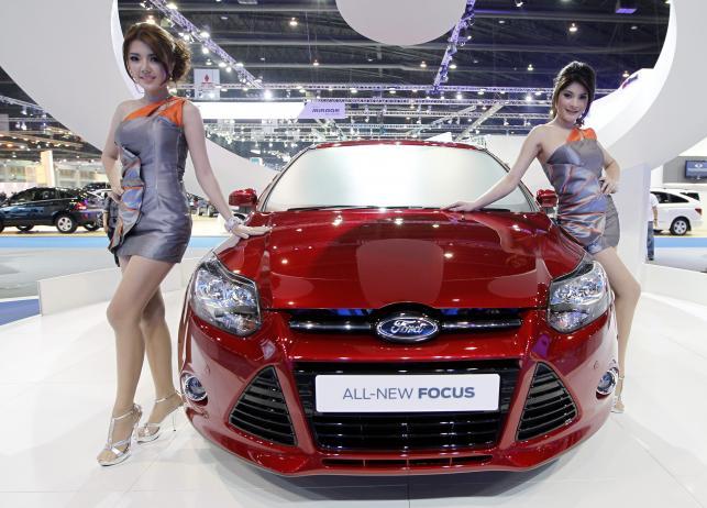 Salon samochodowy w Tajlandii
