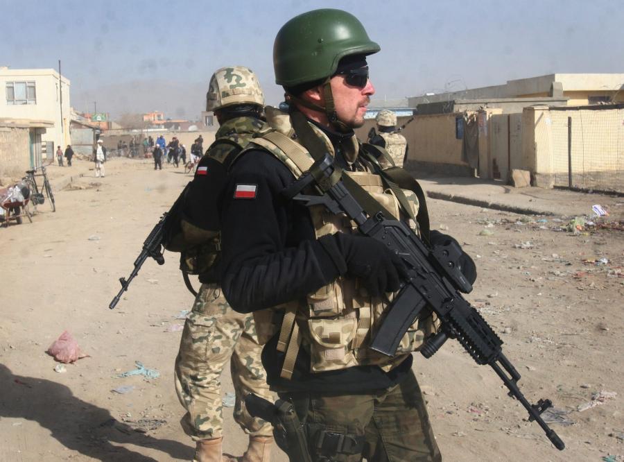 Polski żołnierz w Afganistanie