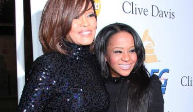 Whitney Houston i Bobbi Kristina Brown