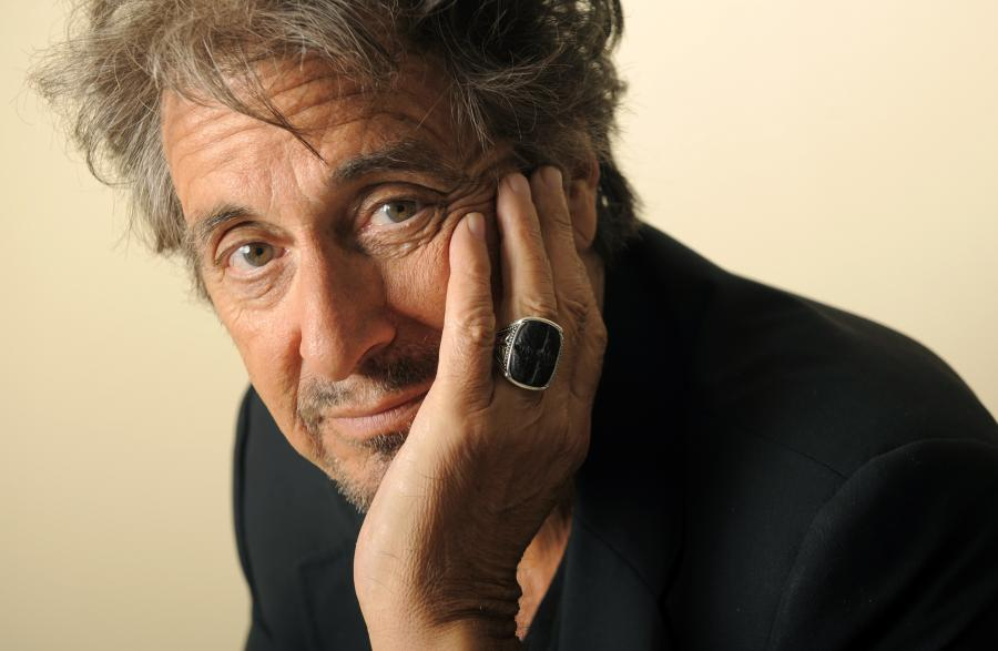 Al Pacino starzejącym sięgangsterem w \