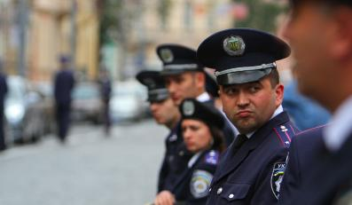 policja milicja ukraina