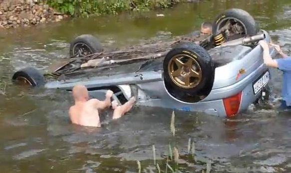 Wypadek na trasie Rajdu Mazowieckiego