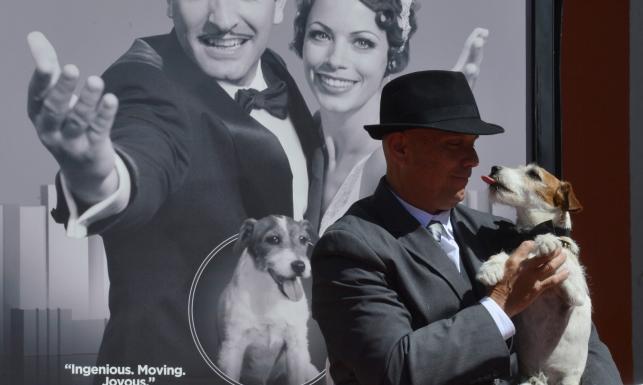 Uggie – pierwszy pies, który zostawił odciski swych łap w Hollywood