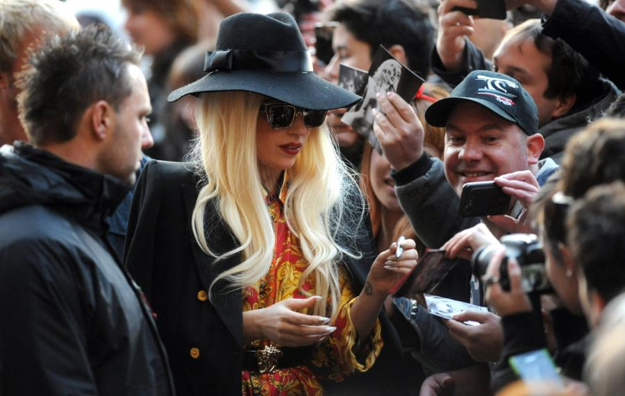 Lady GaGa wśród fanów w Melbourne