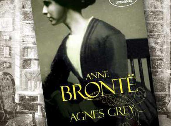 "Okładka książki Emily Bronte ""Agnes Grey"""