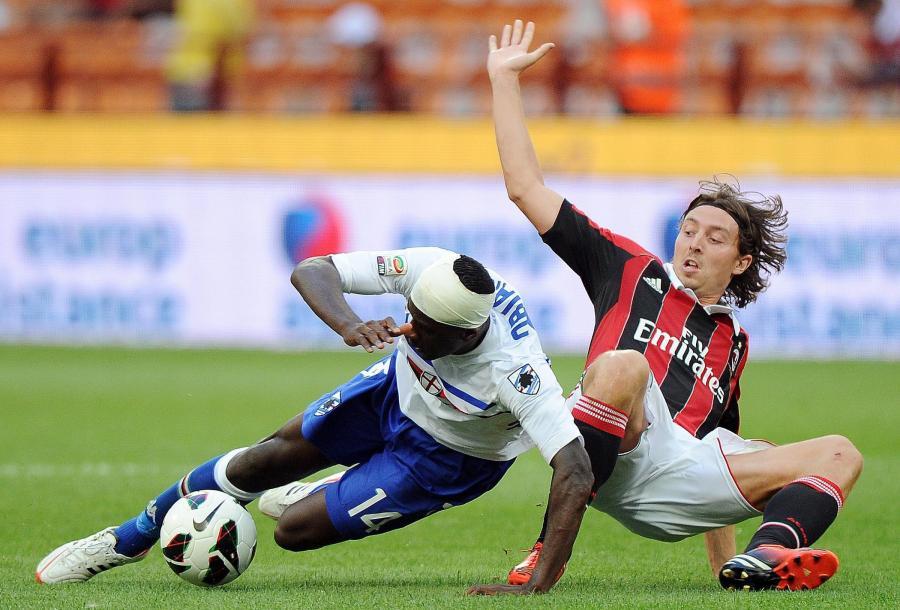 Riccardo Montolivo i Pedro Obiang