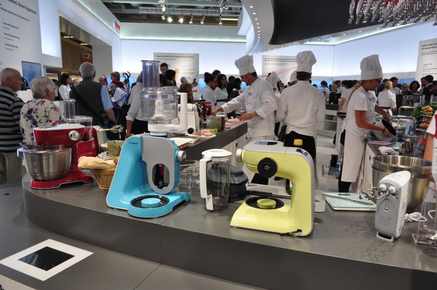 Roboty kuchenne koncernu Bosch Siemens