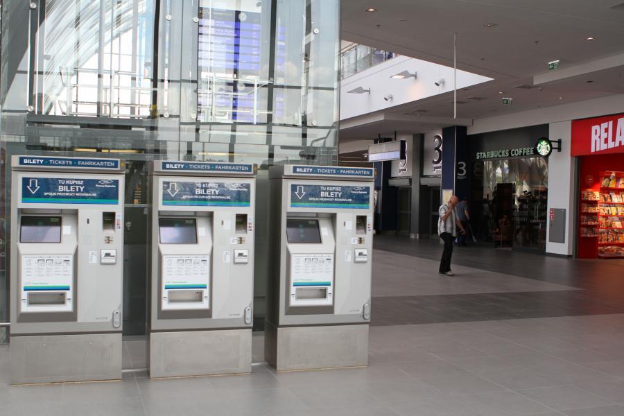 Nowy dworzec kolejowy w Poznaniu