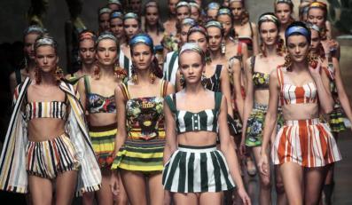 Dolce & Gabanna - kolekcja wiosna/lato 2012