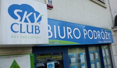 Oddział biura podróży Sky Club