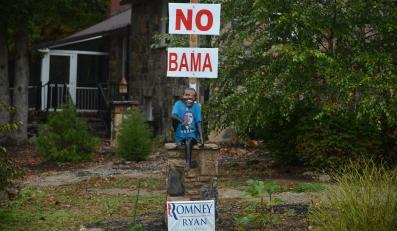 """Kampania przeciw Obamie w Wirginii, kolejnym ważnym stanie """"wahającym się"""""""