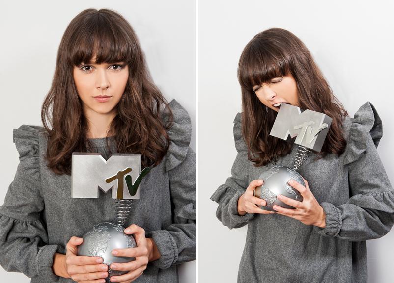 Monika Brodka z nagrodą MTV