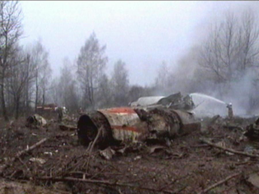 Wrak Tu-154