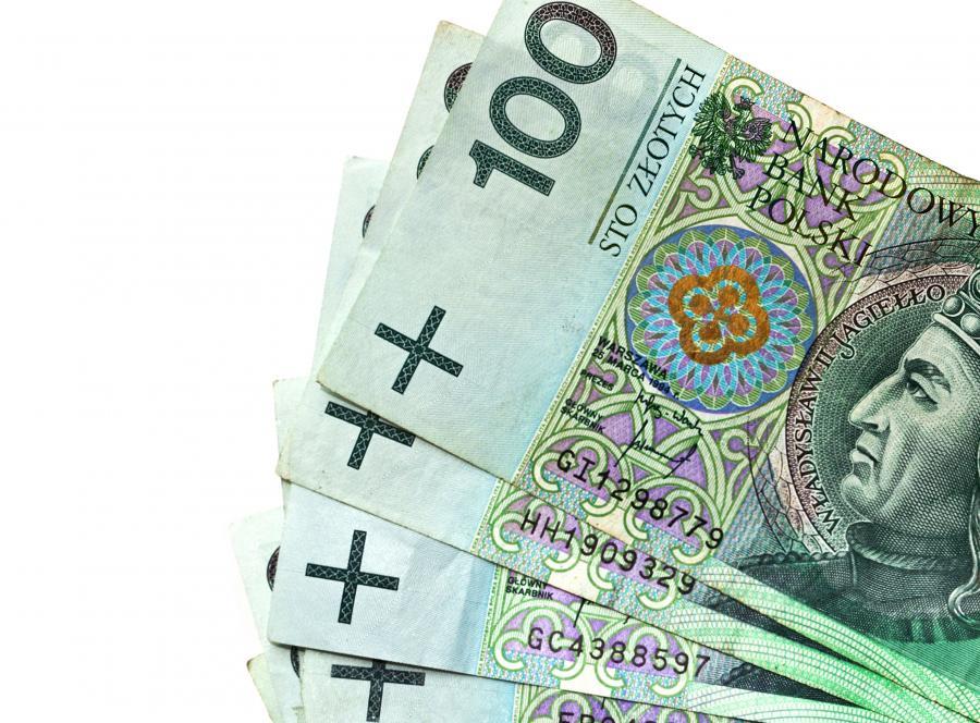 złoty złotówka 100 złotych banknot