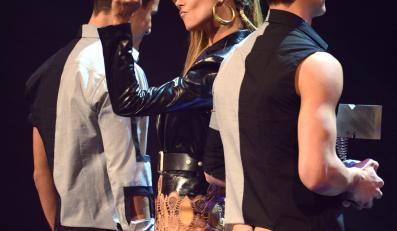 Heidi Klum podczas gali MTV Europe Music Awards (EMA) 2012