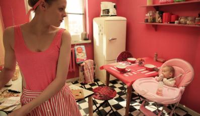 """Magdalena Berus w filmie """"Bejbi blues"""""""