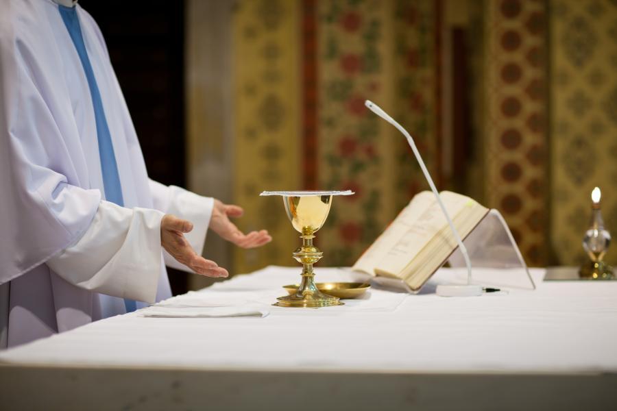 Msza w Kościele