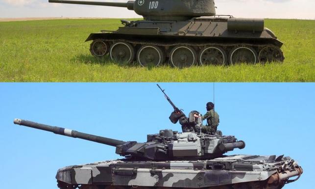 T-34 / T-90
