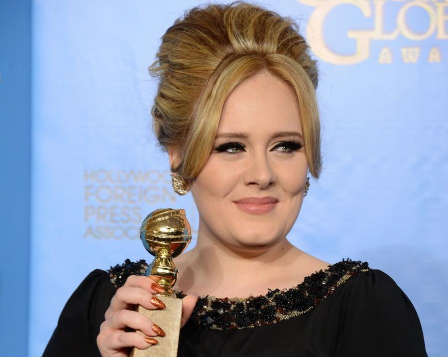 Adele ze swoim pierwszym Złotym Globem