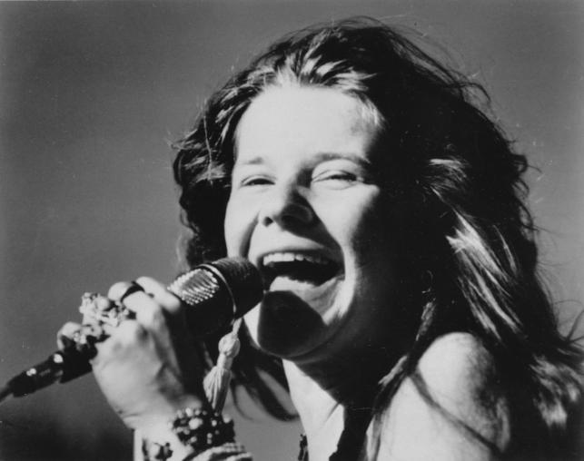 Janis Joplin w 1969 roku
