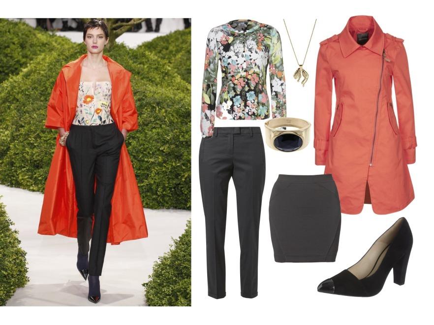 Moda wiosna 2013 - inspiracje z wybiegów