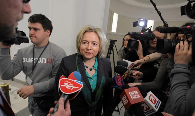 Wanda Nowicka i Janusz Palikot