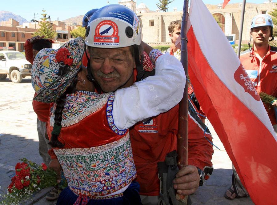 Polacy zostali powitani jak bohaterzy