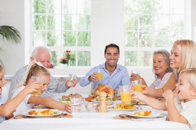 Rodzinny obiad nie musi być gehenną