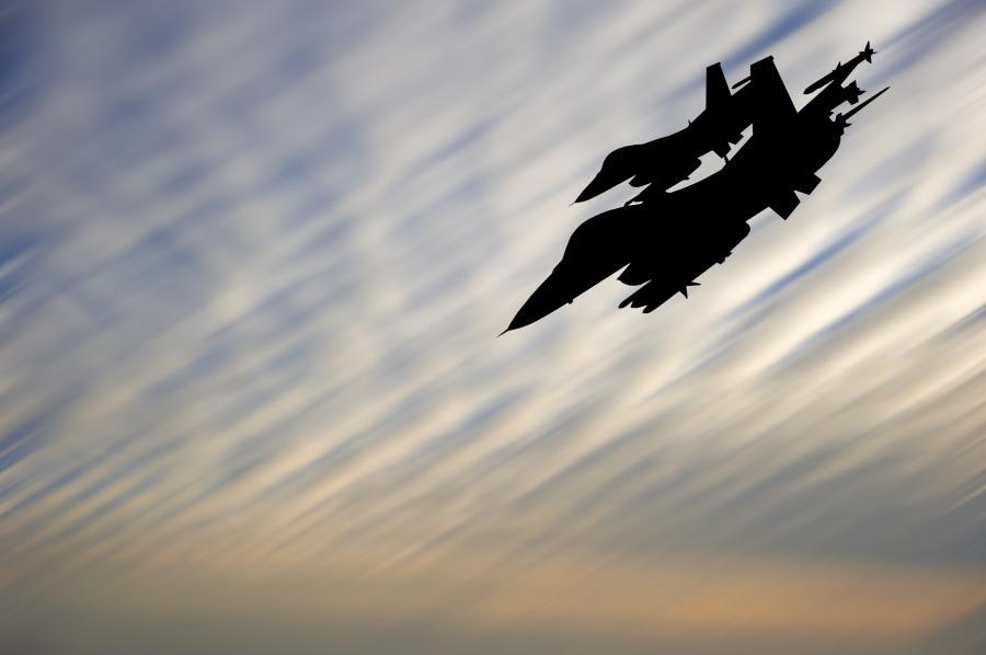 Myśliwce na niebie
