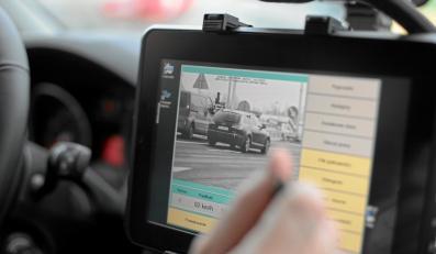 Jak rozpoznać samochód ITD z fotoradarem