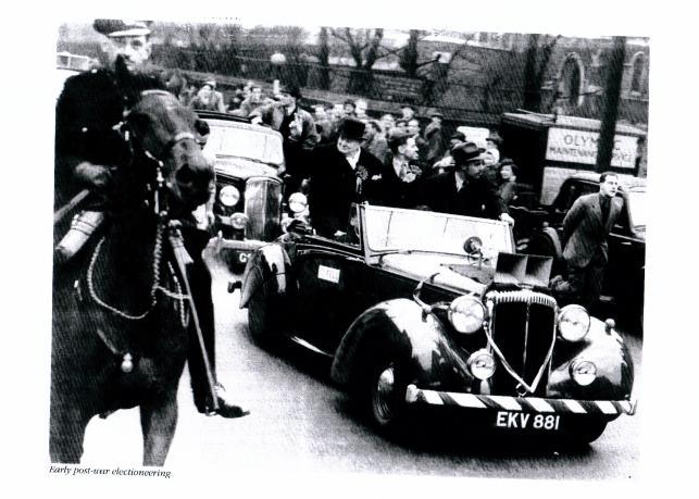 Winston Churchill i Daimler Benz z roku 1939 roku