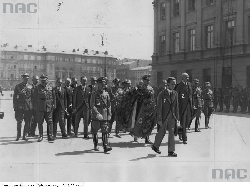 Joseph Goebbels w Warszawie