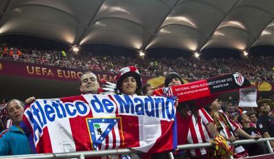 Kibice Atletico Madryt