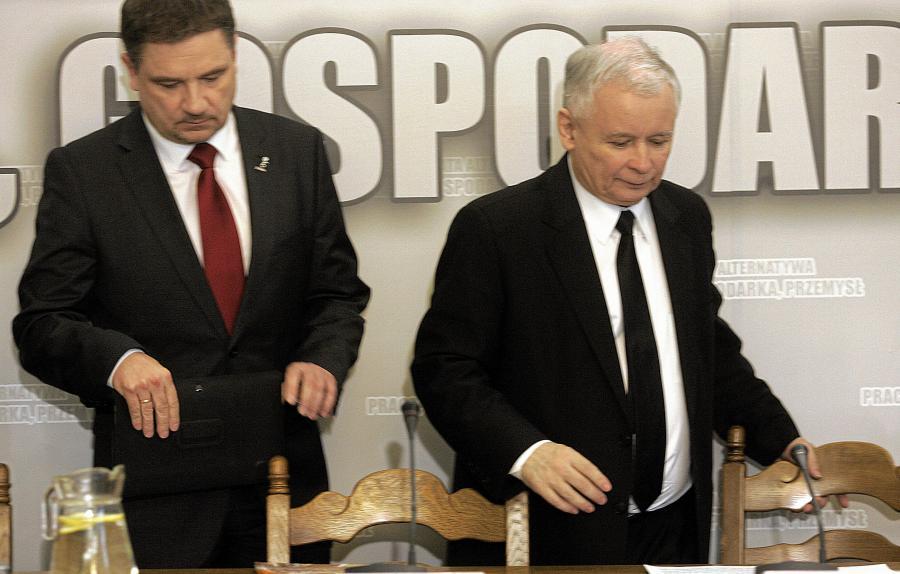 Piotr Duda i Jarosław Kaczyński
