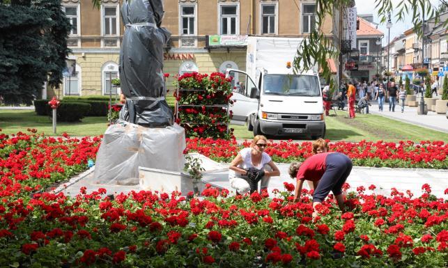 Pomnik Marii i Lecha Kaczyńskich w Radomiu