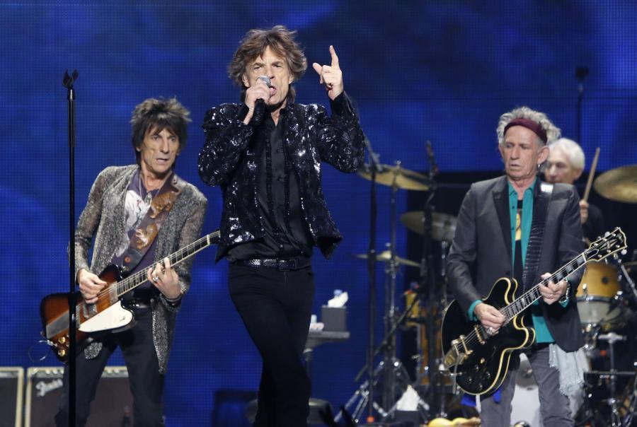 The Rolling Stones gwiazdami \
