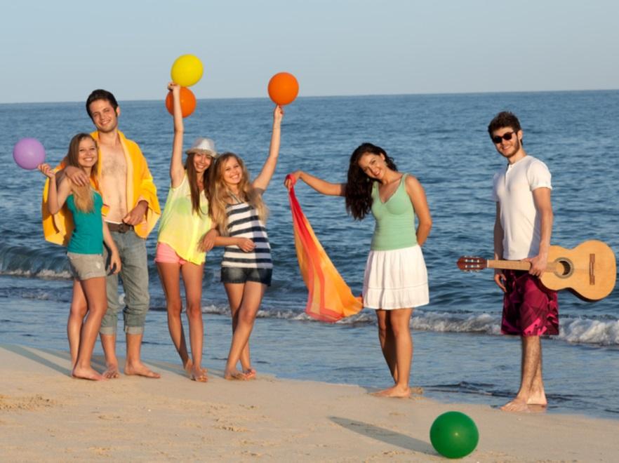 Nastolatki na wakacjach