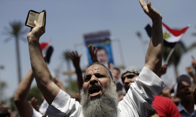 Manifestacja w Egipcie