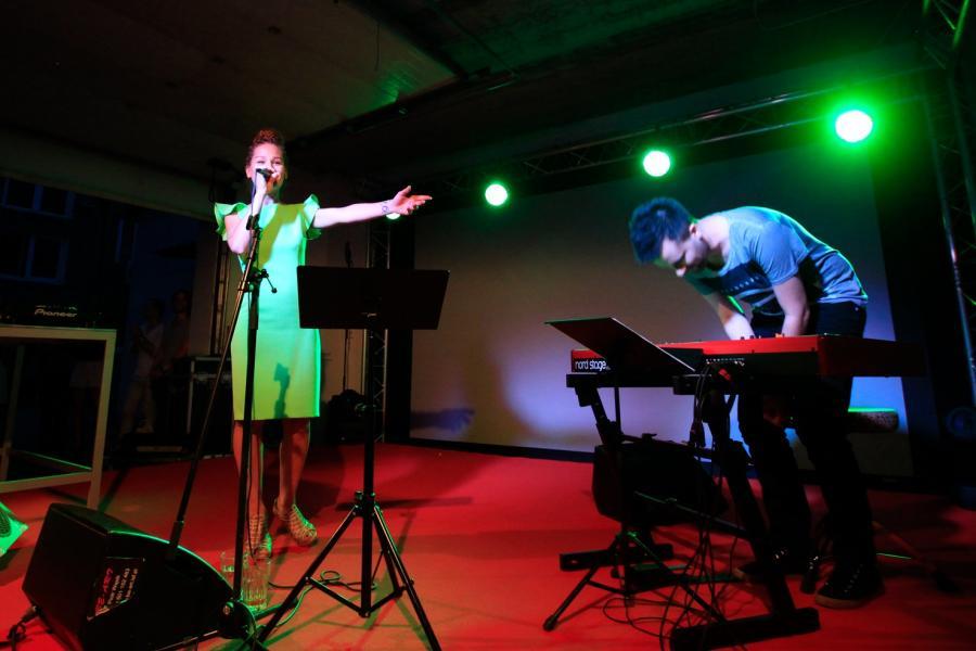 Marika na scenie