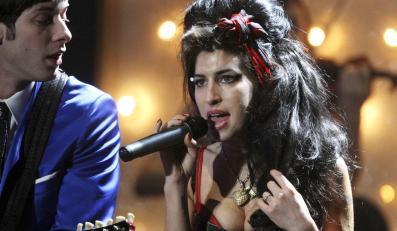 Amy Winehouse i Mark Ronson w 2008 roku