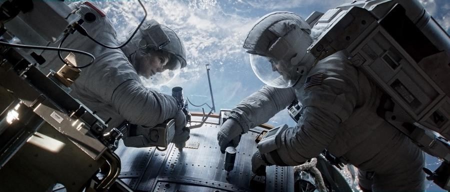 Amerykanie z Sandrą Bullock i George\'em Clooneyem w kosmosie