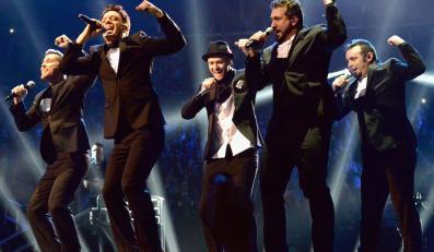 'N Sync w legendarnym składzie na gali MTV VMA 2013