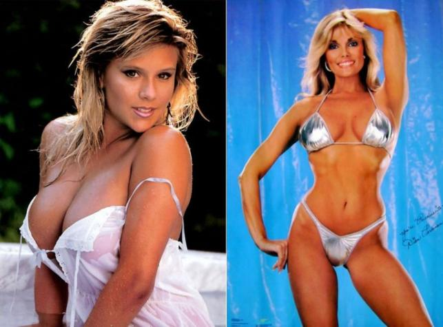 Samantha Fox i Dian Parkinson